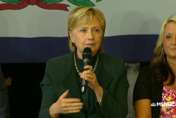 Clinton: 'It takes a village'  to fight...