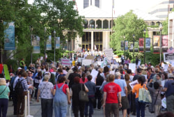 Moral Monday protests take aim at HB2