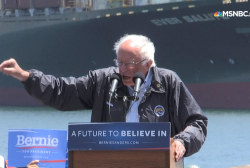 Sanders: Don't allow the 'Donald Trumps'...