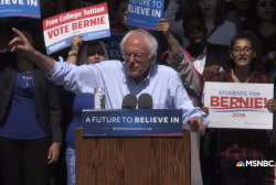 Sanders: I am the strongest candidate to...