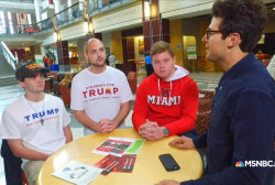'Students for Trump' pitch on campus