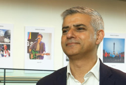 London Mayor has strong message for Trump