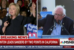 Poll: Clinton, Sanders in Tight Race For...