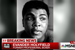 Evander Holyfield on Ali as inspiration
