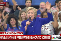 Nominee call a turnout concern for Clinton