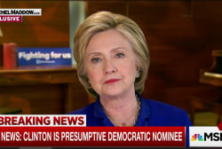 Clinton: Trump judge smear dangerous nonsense