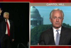 Sen. Corker reacts to Trump comments on judge
