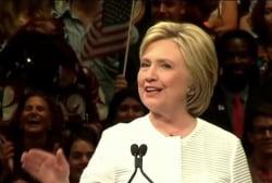 Hillary Clinton reaches national milestone
