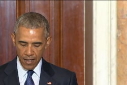 Obama: ISIS members are not warriors