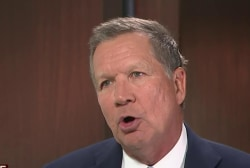 Kasich: There was a media fixation on Trump