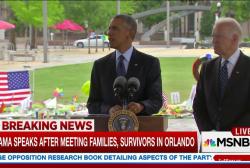Obama makes remarks in Orlando