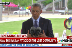 Obama: You can't break world into 'us' and...