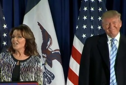 Echoes of Palin in Trump's rhetoric