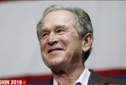 George W. Bush aids troubled GOP senators