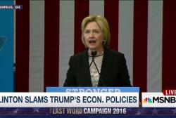 """Clinton: We can't let Trump """"Bankrupt..."""