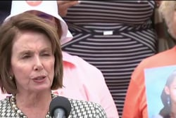 Pelosi on House floor sit-in over gun control