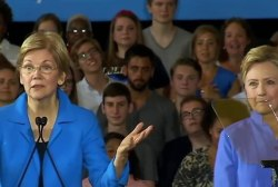 Warren: 'This election is about values'