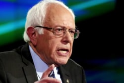 Why is Sanders waiting to endorse Clinton?