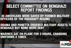 Benghazi panel finds no wrongdoing by Clinton