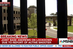 No active shooter at Joint Base Andrews
