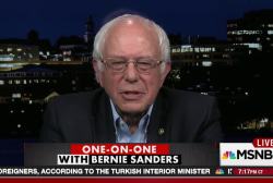 Sanders on endorsing Clinton