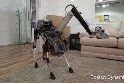 Boston Dynamics reveals 'SpotMini' robot