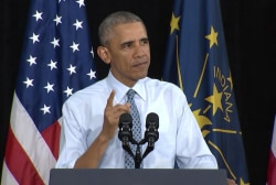 Why is Pres. Obama's Indiana visit important?