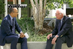 Sanders on how campaign is 'defying history'