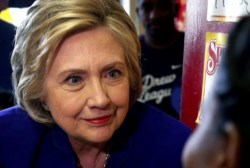 Secy. Clinton gave 'voluntary' interview...