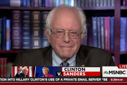 Bernie Sanders: This isn't about my ego