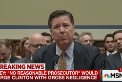 Comey: Clinton did not break the law