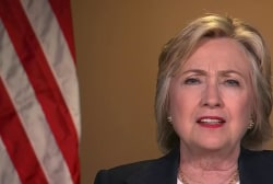 Hillary Clinton on Dallas, email...
