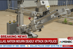 Robot bomb used to kill Dallas suspect