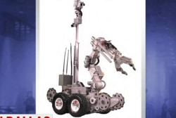 Questions surround the 'bomb robot'