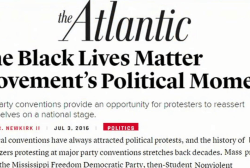 'Black Lives Matter' at the conventions