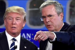 Bush: Trump created 'alternative universe'