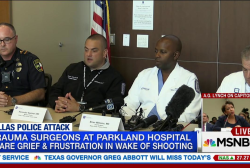 Dallas trauma surgeons react to shooting
