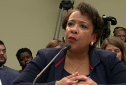 Atty. General Lynch grilled over Clinton...