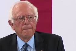 Sanders: This election is about bringing...