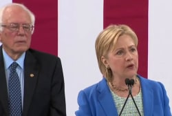 Clinton: Sanders and I are 'joining forces...