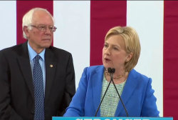 Clinton and Sanders join forces
