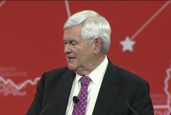 Gingrich Fox News move raises Trump intrigue