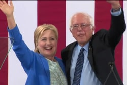Sanders succeeds in moving Democrats leftward