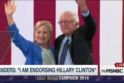 Bernie Sanders joins team Hillary in NH