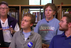 Sanders' supporters on endorsement