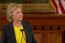 Hillary Clinton: 'I have to do better too'