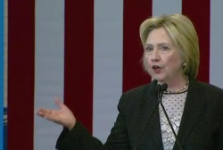 Clinton invokes Lincoln to call for unity