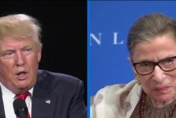 Trump on RBG: 'Her mind is shot - resign!'