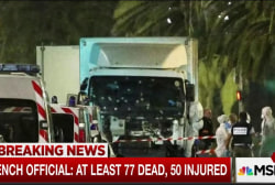At least 77 dead in attack in Nice, France