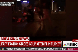 Video shows intense military action in Ankara